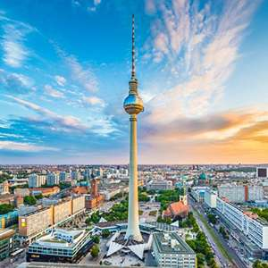 Return Flights To Berlin From London, Edinburgh and Manchester £10 @ Holiday Pirates