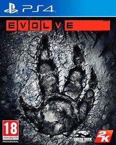 Evolve Sony Playstation PS4 game, £3.45 @ Argos eBay