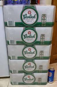 Lager Grolsch - £10 for 18 x 440ml cans instore @ ASDA