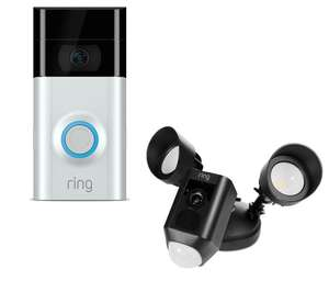 Ring Video Doorbell 2 & Floodlight £328 @ Currys free click and collect