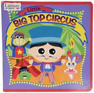 Lamaze Little Big Circus Board Book @ Amazon Sold By Toy jumble And Fulfilled By Amazon £2 Prime £6.49 Non Prime