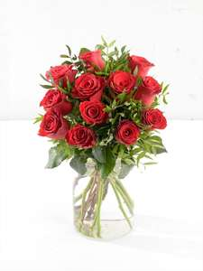 Interflora Perfect Love Roses (12) delivered for £33.60 at Interflora