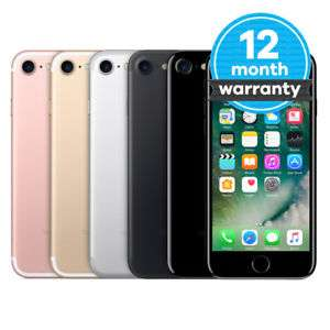 Apple iPhone 7 - 32GB - Jet Black - In Good Condition On Vodafone £189.99 @ Music Magpie Ebay