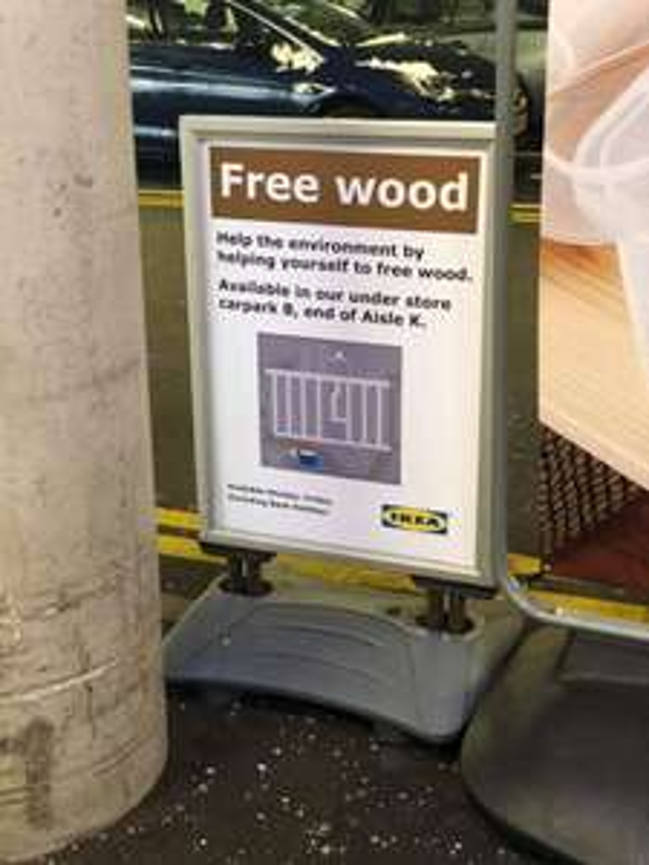Ikea Free Wood