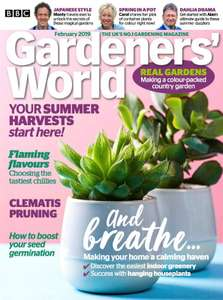 Annual 2 for 1 Gardens to Visit Card/Guide (valid to April 2020) FREE with May Gardeners' World magazine - but get that + 4 more for £5