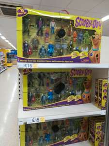 Scooby-Doo 25 piece set £15 @ Tesco Irlam Manchester
