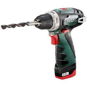 Metabo Powermaxx BS Basic 10.8v Drill Driver with 2 Batteries (600080500) £69.95 + £4.98 Delivery @ Lawson-his
