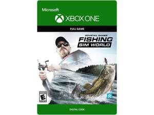 Fishing Sim World Xbox One £14.99 Download Code from Amazon UK