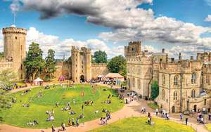Warwick Castle Entry and a Hot Drink £10.50 Wowcher (+ parking £6 per car)