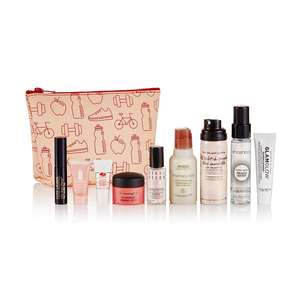 Hit Reset beauty box with 9 products inc Estee Lauder, Mac, Smashbox and Bobbi Brown in a toiletry bag + free sample & delivery £25 @ Mac