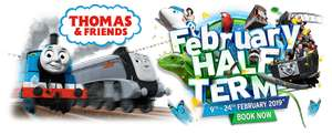 February half term tickets 40% off when booked one day in advance for Thomas Land, zoo and selected rides £18pp @ Drayton Manor