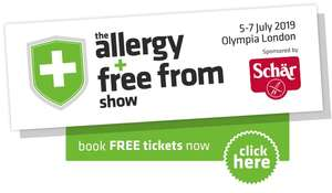 FREE TICKETS - The Allergy and Free From Show, Glasgow, London & Liverpool 2019