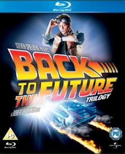 Back to the Future Trilogy Blu ray used £4.40 delivered w/code @ Music Magpie