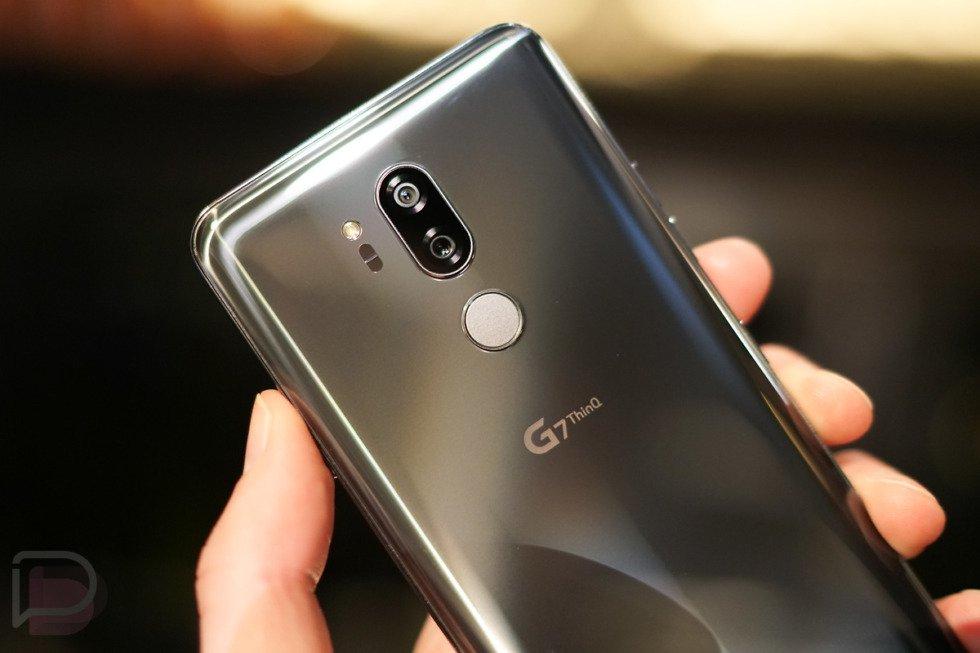 "BRAND NEW LG G7 ThinQ Platinum 6.1"" 64GB 4G Unlocked & SIM Free / Which trial £14 OFF -£365 @ Appliancesdirect.co.uk"