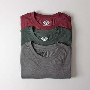 Dickies 3 pack T-shirts £15.26 + £2.99 p&p @ Urban Industry