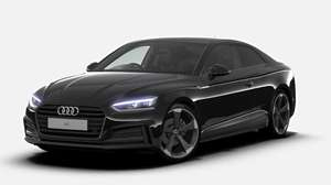 Audi A5 Coupe 40 Tfsi Black Edition 2dr S Tronic 24 M Lease  £8,738 Central Vehicle Leasing  10,000 mpa