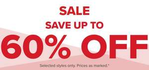 Crocs up to 60% off selected styles sale and free next day delivery.