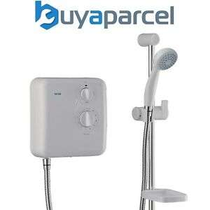 Triton T60x 8.5kW White Electric Shower  £39.99 delivered @ eBay sold by buyaparcel-store