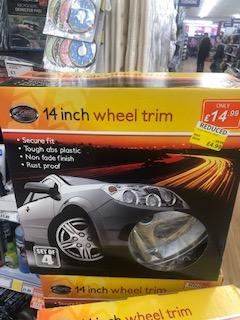 14 Inch Wheel Trims Found Instore @ Poundstretcher £4.99