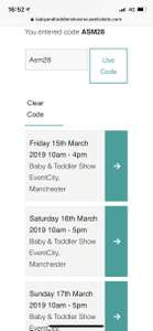 40% off North West Baby and toddler show