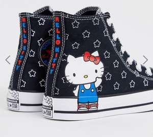 Hello Kitty Converse £27 Delivered with code @ ASOS