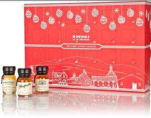 Whisky by the dram 2018 advent calendar - half price £74.98 @ 31 Dover