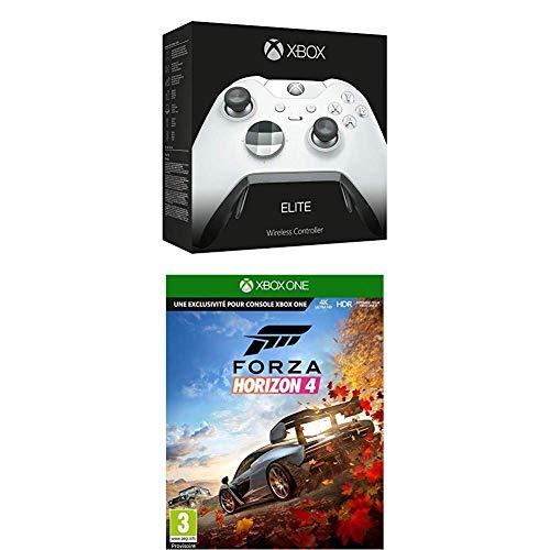 Xbox One White Elite Controller + Forza Horizon 4 + Gears of War 4 £98 Fee Free Card / £102 Non Fee Free Card @ Amazon France
