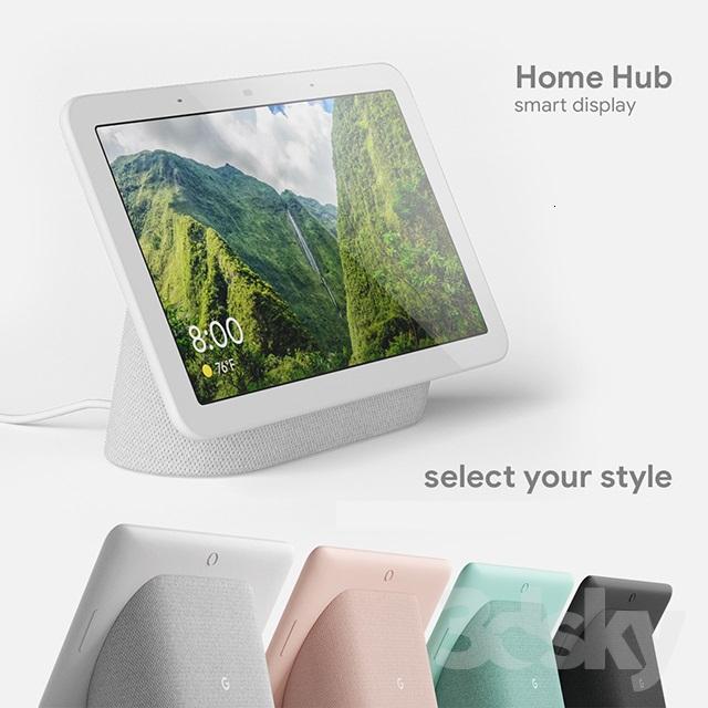 Google Home Hub Aqua / Sand / Charcoal / Chalk £109 delivered @ Google Store