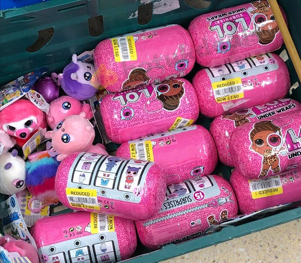 LOL Surprise under wraps £7.50 instore @ Tescos