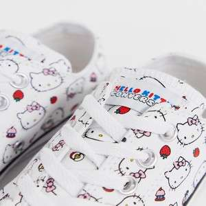Converse x Hello Kitty Chuck Taylor Ox white all over print trainers - Now £33 delivered @ ASOS