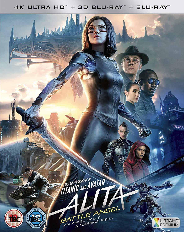 ALITA: BATTLE ANGEL - 4K ULTRA HD (INCLUDES 3D AND 2D BLU-RAY) £23.48 Zavvi