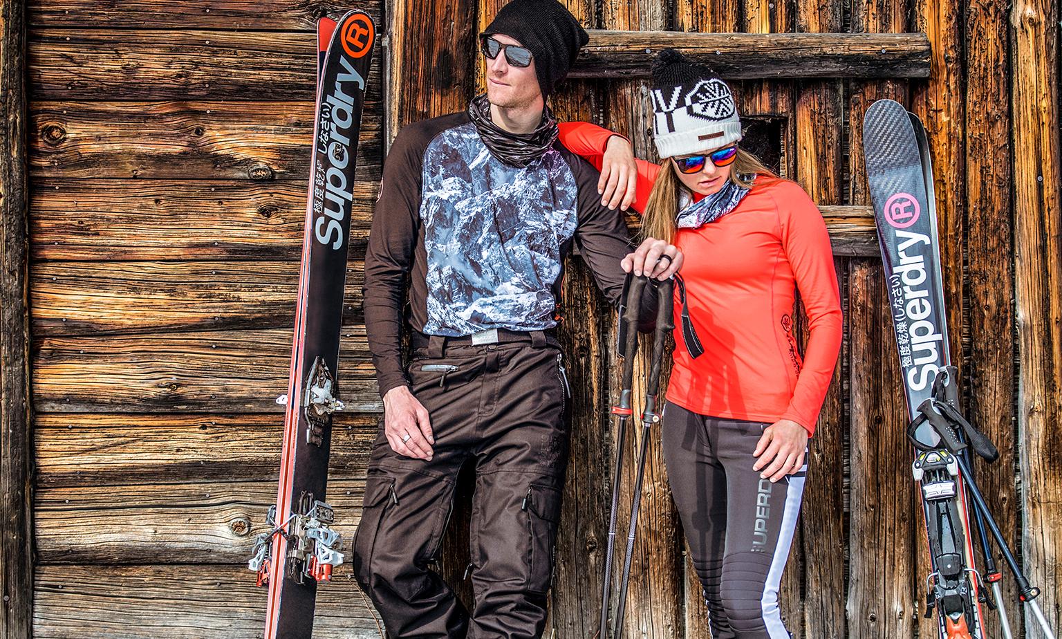 Upto 60% off Superdry snow, skiing & sports wear eg running leggings £11.99, Sport backpacks £15.99, Vest tops £8.99 @ eBay / Superdry