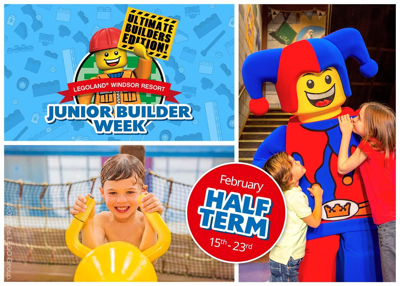 Feb Half Term - LEGOLAND Themed Hotel Room Stay + Breakfast + Lego Gift + Lego Pirate Pool Entry + Magic Shows & more £112/£28pp @ Legoland