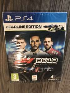 PS4  - F1 2018 Headline Edition game - Tesco - £10