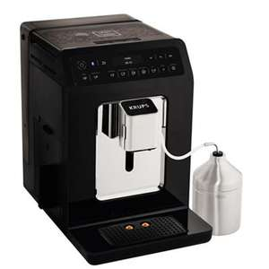Krups - Black 'Evidence' automatic espresso bean to cup coffee machine -  Now £449.00 Save £450.00 Was £899.00 Then £600.00 @ Debenhams