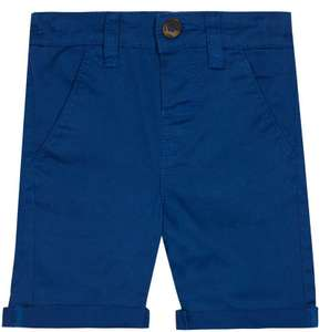 bluezoo Kids Boys' Blue Chino Shorts age 2-3 - £1 (Prime) / £5.49 (non Prime) Sold by Debenhams and Fulfilled by Amazon.