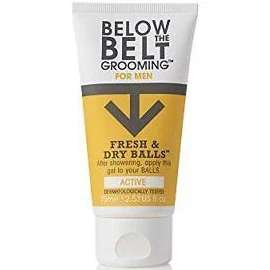 Below the Belt Grooming Fresh and Dry Balls, 75 ml, Active £5.95 (Prime) £10.44 (Non Prime) @ Amazon