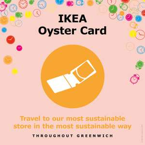 FREE £5 IKEA Oyster Cards !!!!