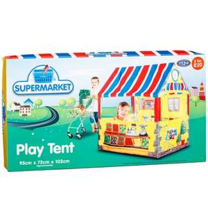 Play Tent Supermarket or Horse Stable - Now £3 @ B&M