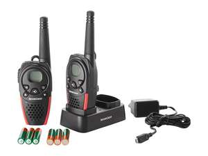 Silvercrest  PMR WALKIE TALKIE RADIO SET, £29.99 @ LIDL WITH 3 YEAR WARRANTY, available 10th of Feb. 3 year warranty.
