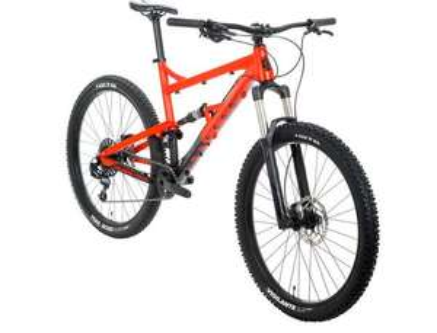 Calibre Bossnut Evo Mountain Bike full suspension £999 Go Outdoors