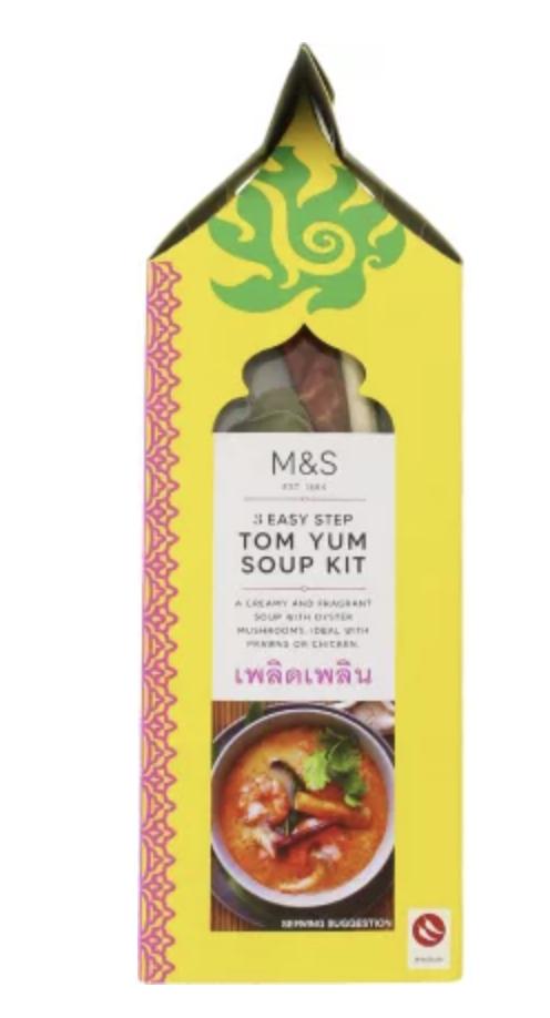 Tom Yum Soup Kit - M&S 50p instore