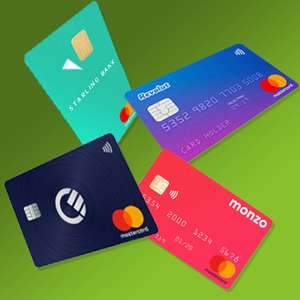 The Best Fee Free Debit + Credit Cards + Prepaid Cards for foreign spend e.g. Amazon DE/IT/ES - Includes Starling - Monzo - Revolut + more