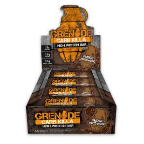 Grenade Protein bars £16.98 for 12, £2.99 shipping Bodybuilding Warehouse