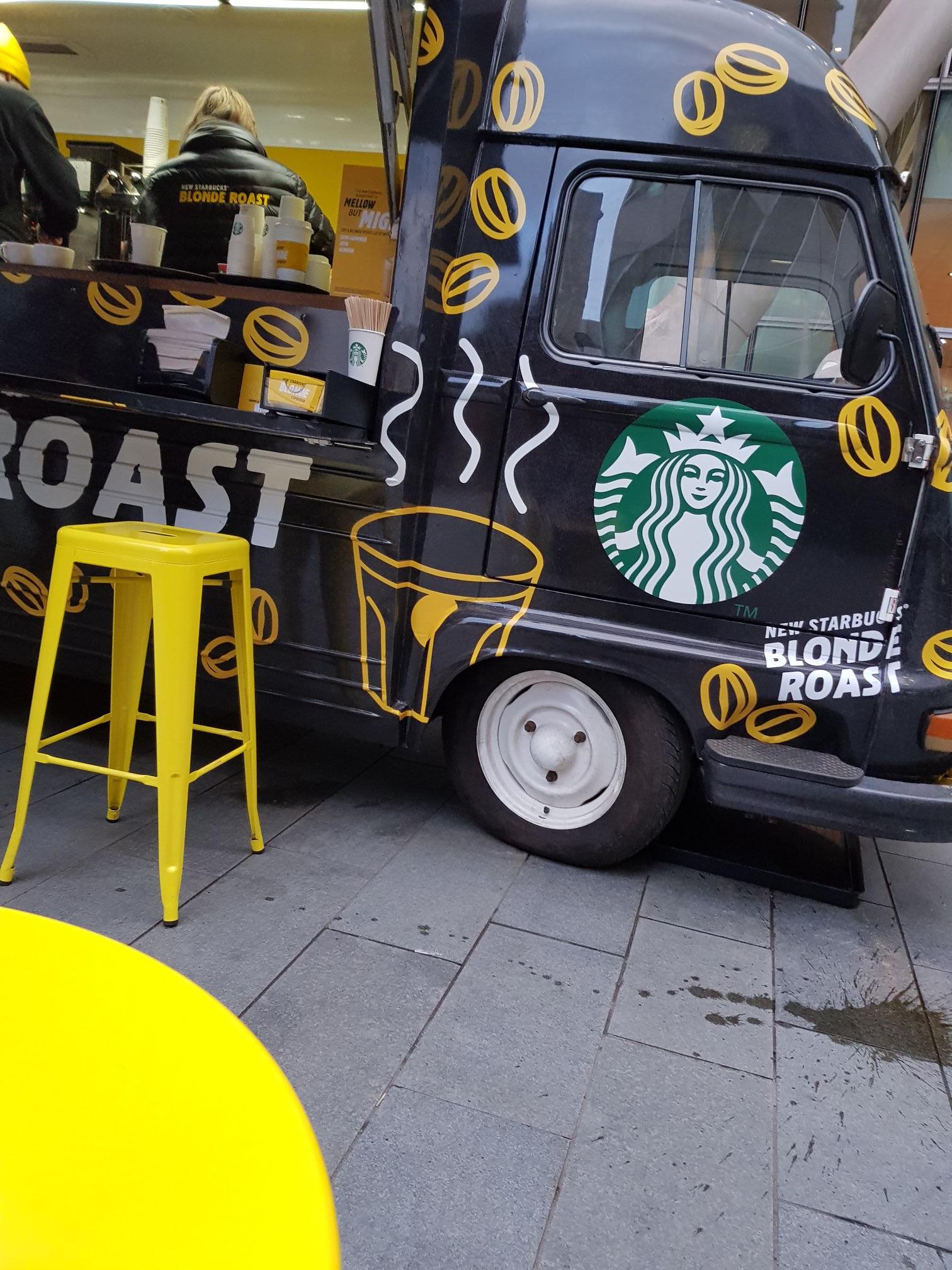 Free Starbucks blonde roast, Manchester (Spinningfields)