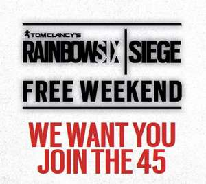Tom Clancy's Rainbow Six: Free Play 14th-18th Feb (All Platforms)