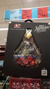 Valent Mini Serrano Jamon (Bonless) Net Weight 1kg : Knife & Stand Included £9.99 @ Aldi
