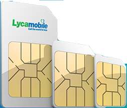 Lycamobile Sim 8gb Data, Unlimited Minutes, Unlimited Texts for £7.50/Month - 1 Month Contract