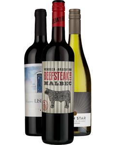 FREE Wine 3 x Bottles @ Majestic Wine (free C&C)