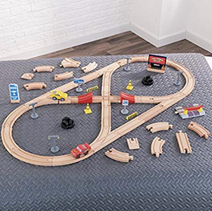 KidKraft Disney Cars 3 Wooden Train/Race Track £14.99 + £3.99 postage (RRP £49.95) @ TK Maxx
